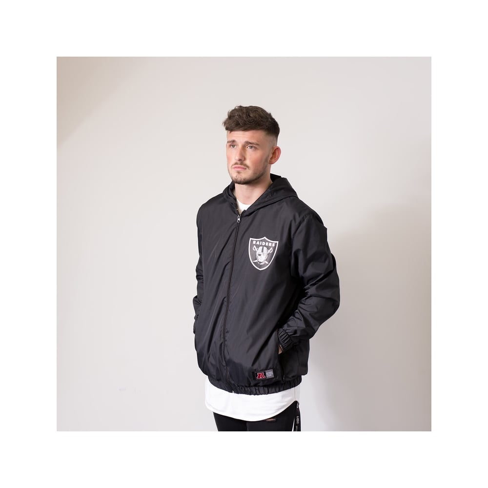 9aa25cfe5da Majestic Athletic NFL Oakland Raiders Racer Track Jacket - Teams ...