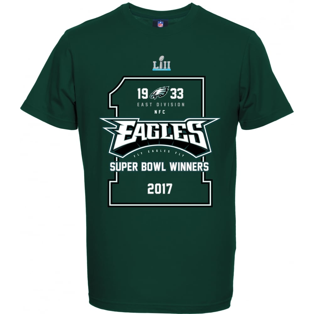 check out b1741 be5a5 NFL Philadelphia Eagles Super Bowl 52 Winners T-Shirt