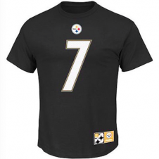 NFL Pittsburgh Steelers Ben Roethlisberger Player Name And Number T-Shirt