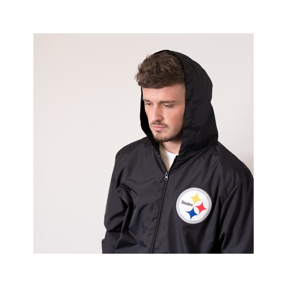 timeless design 72d7a 08944 NFL Pittsburgh Steelers Racer Track Jacket