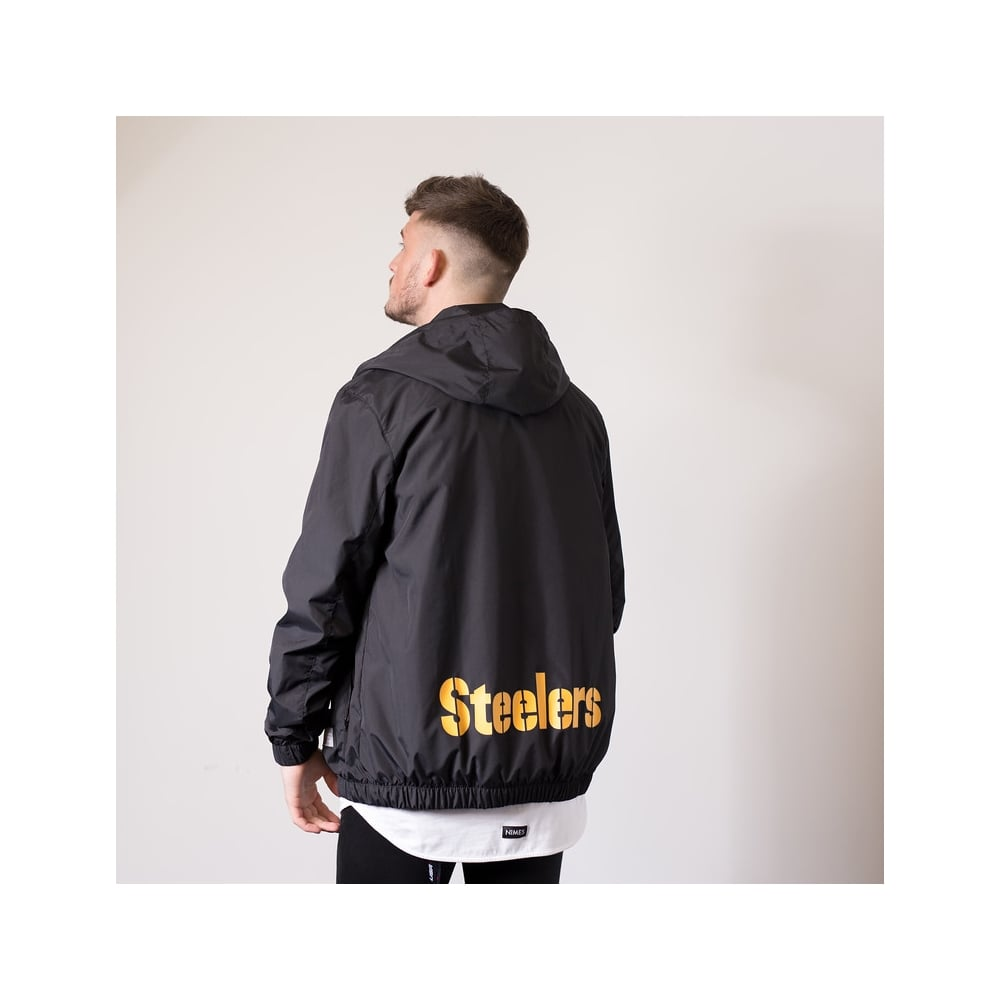 timeless design 72d7a 08944 NFL Pittsburgh Steelers Racer Track Jacket
