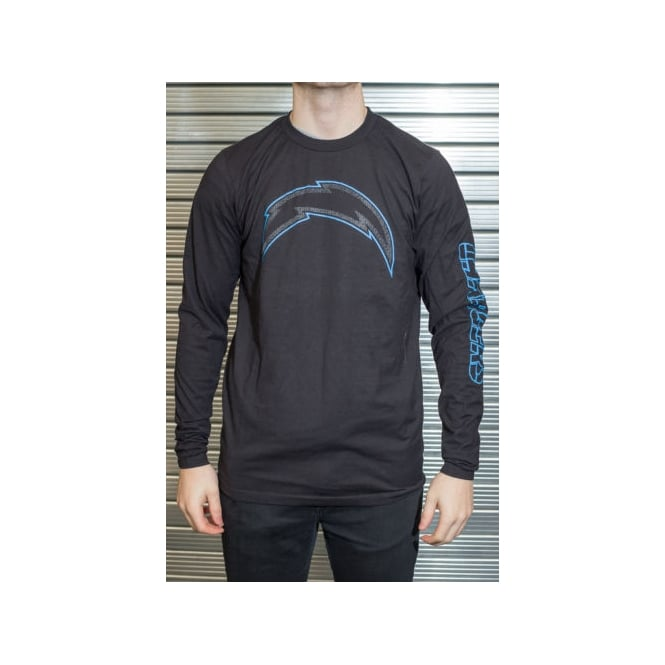 Majestic Athletic NFL San Diego Chargers Up And Over Longsleeve T-Shirt