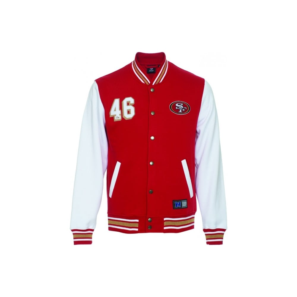 best authentic c873b bf61f NFL San Francisco 49ers Cotland Fleece Letterman Jacket
