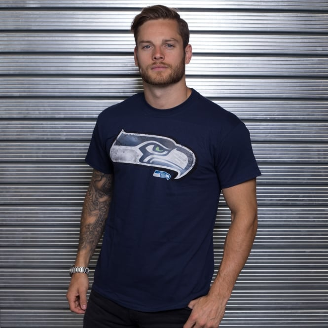 Majestic Athletic NFL Seattle Seahawks Line To Gain T-Shirt