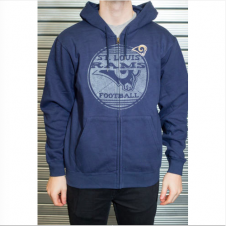 NFL St. Louis Rams Defeat Proof Zip Hood