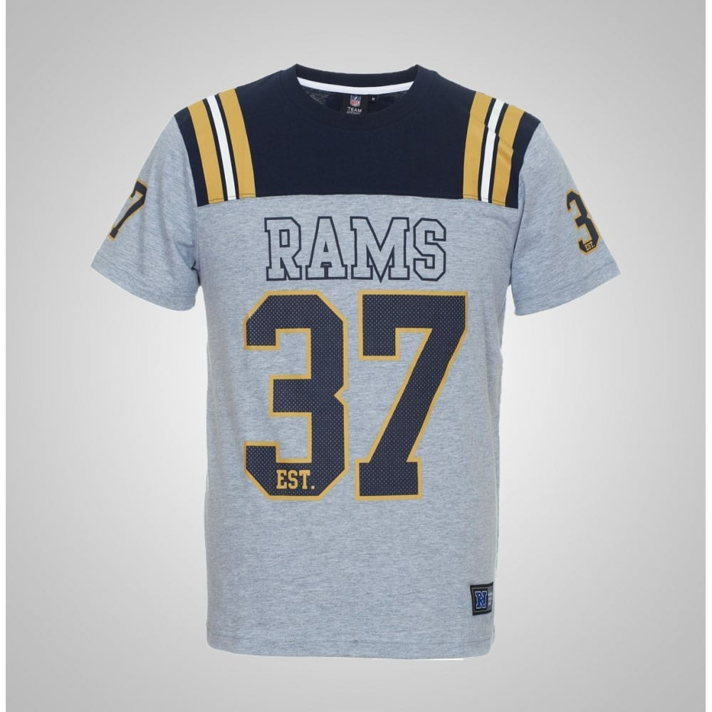 Majestic Athletic NFL St. Louis Rams Gatril T-Shirt - Teams from USA ... 10fbce9f5