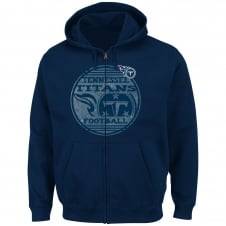 NFL Tennessee Titans Defeat Proof Zip Hood