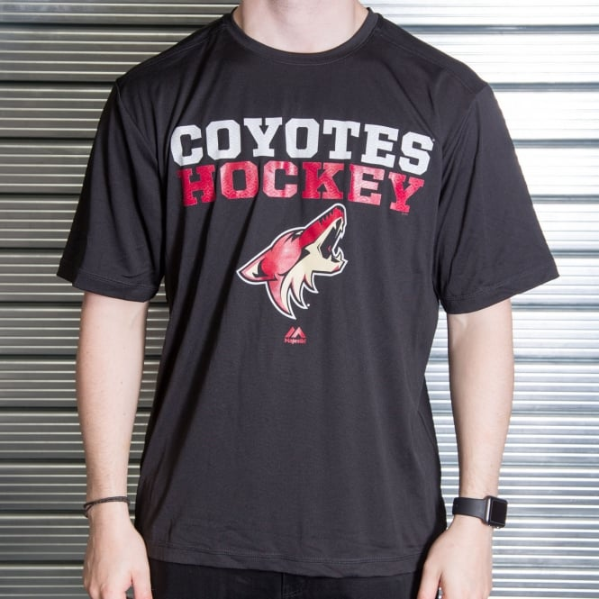 Majestic Athletic NHL Arizona Coyotes Feel The Pressure T-Shirt