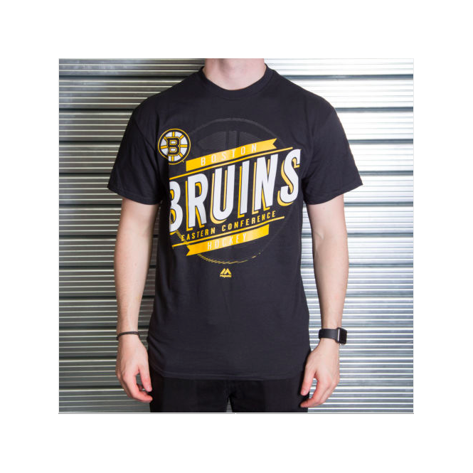Majestic Athletic NHL Boston Bruins Earn Each Play T-Shirt