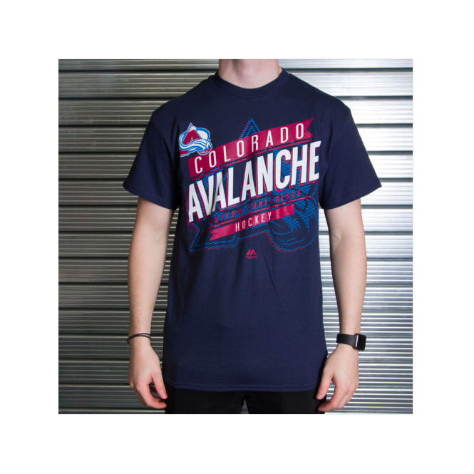 Majestic Athletic NHL Colorado Avalanche Earn Each Play T-Shirt