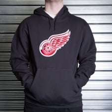 NHL Detroit Red Wings Felt Tek Pullover Hood