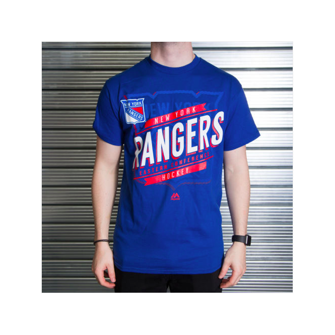 Majestic Athletic NHL New York Rangers Earn Each Play T-Shirt