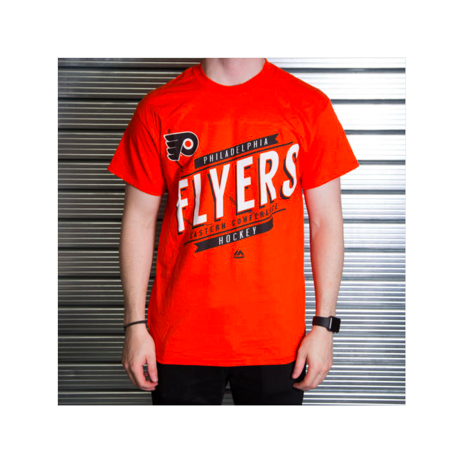 Majestic Athletic NHL Philadelphia Flyers Earn Each Play T-Shirt