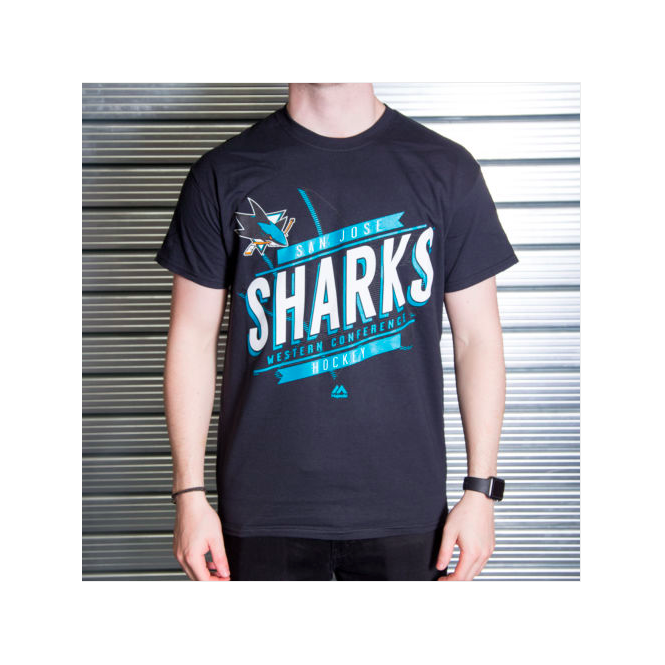 Majestic Athletic NHL San Jose Sharks Earn Each Play T-Shirt