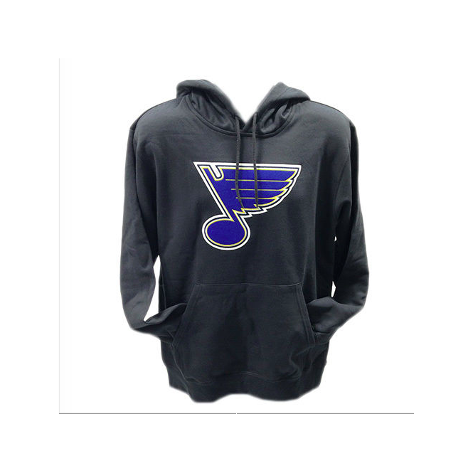 Majestic Athletic NHL St. Louis Blues Felt Tek Pullover Hood