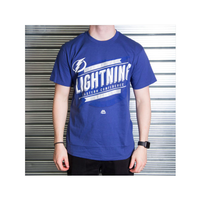 Majestic Athletic NHL Tampa Bay Lightning Earn Each Play T-Shirt
