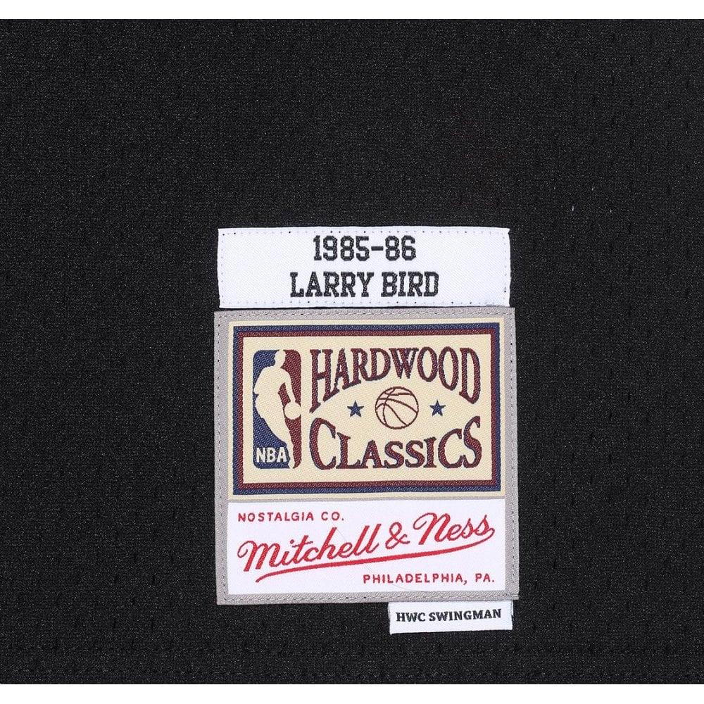 best service 05128 8244d Mitchell & Ness NBA Boston Celtics Larry Bird 1985-86 Back to Black  Swingman Jersey