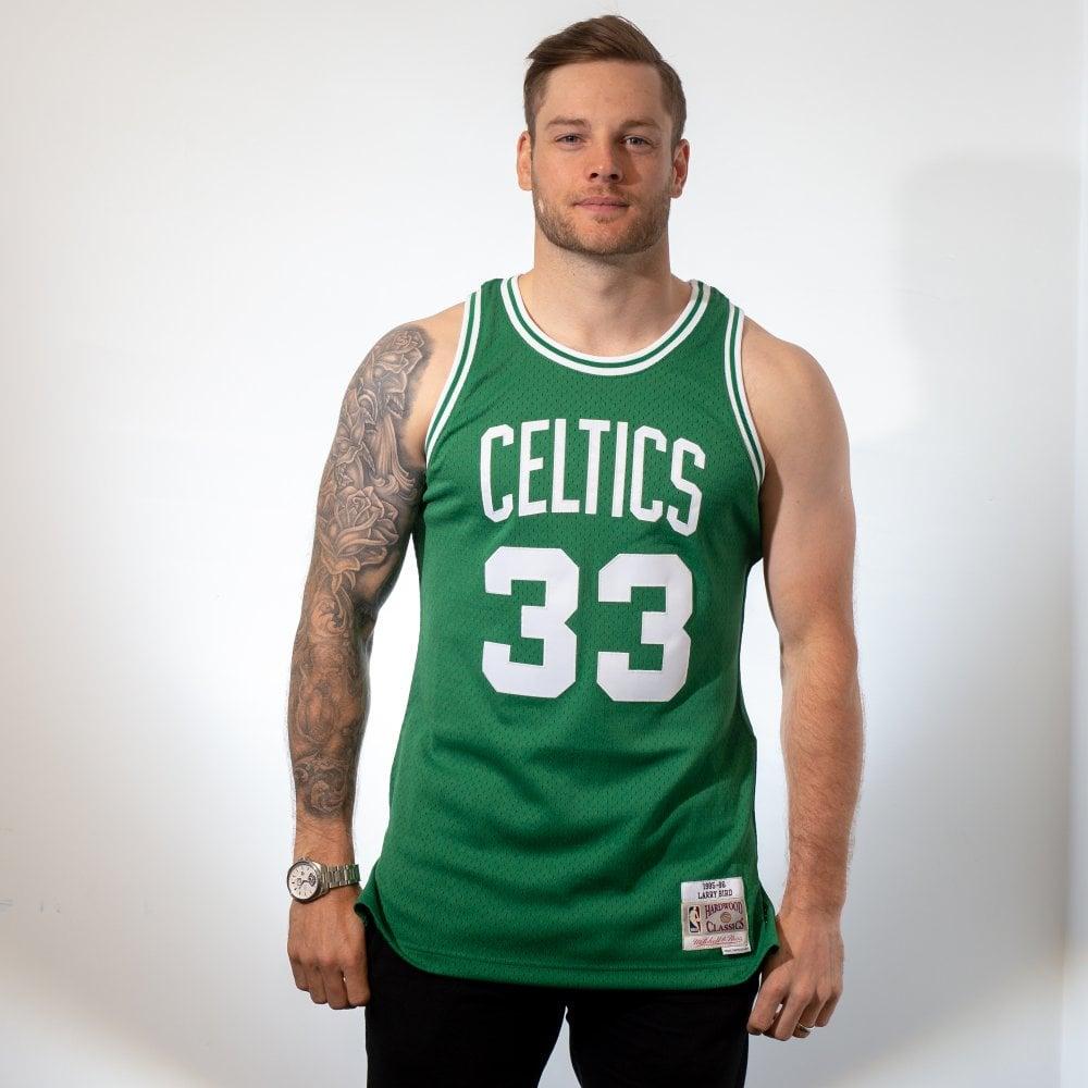 huge discount b22ef 49160 NBA Boston Celtics Larry Bird 1985-86 Swingman Jersey