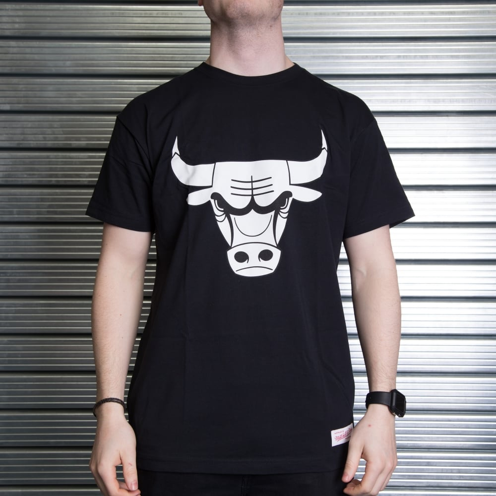 Mitchell   Ness NBA Chicago Bulls Team Logo Traditional T-Shirt ... da76af81e