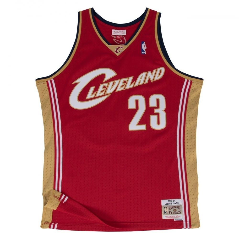 more photos bd6a5 352d0 NBA Cleveland Cavaliers LeBron James 2003-2004 Swingman Jersey