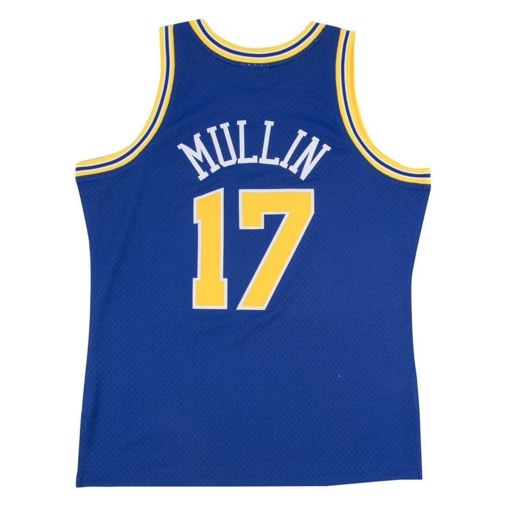 best cheap 49fe2 77a5d NBA Golden State Warriors Chris Mullin 1993-94 Swingman Jersey