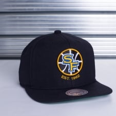 NBA Golden State Warriors Wool Solid Snapback