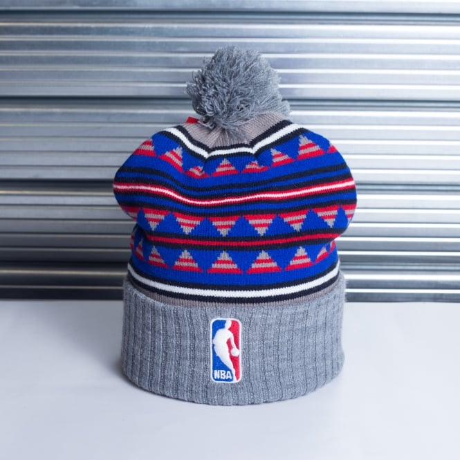 Mitchell & Ness NBA Logo Mixtec Pom Knit