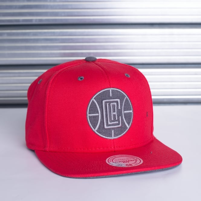 Mitchell & Ness NBA Los Angeles Clippers Tonal Logo Snapback