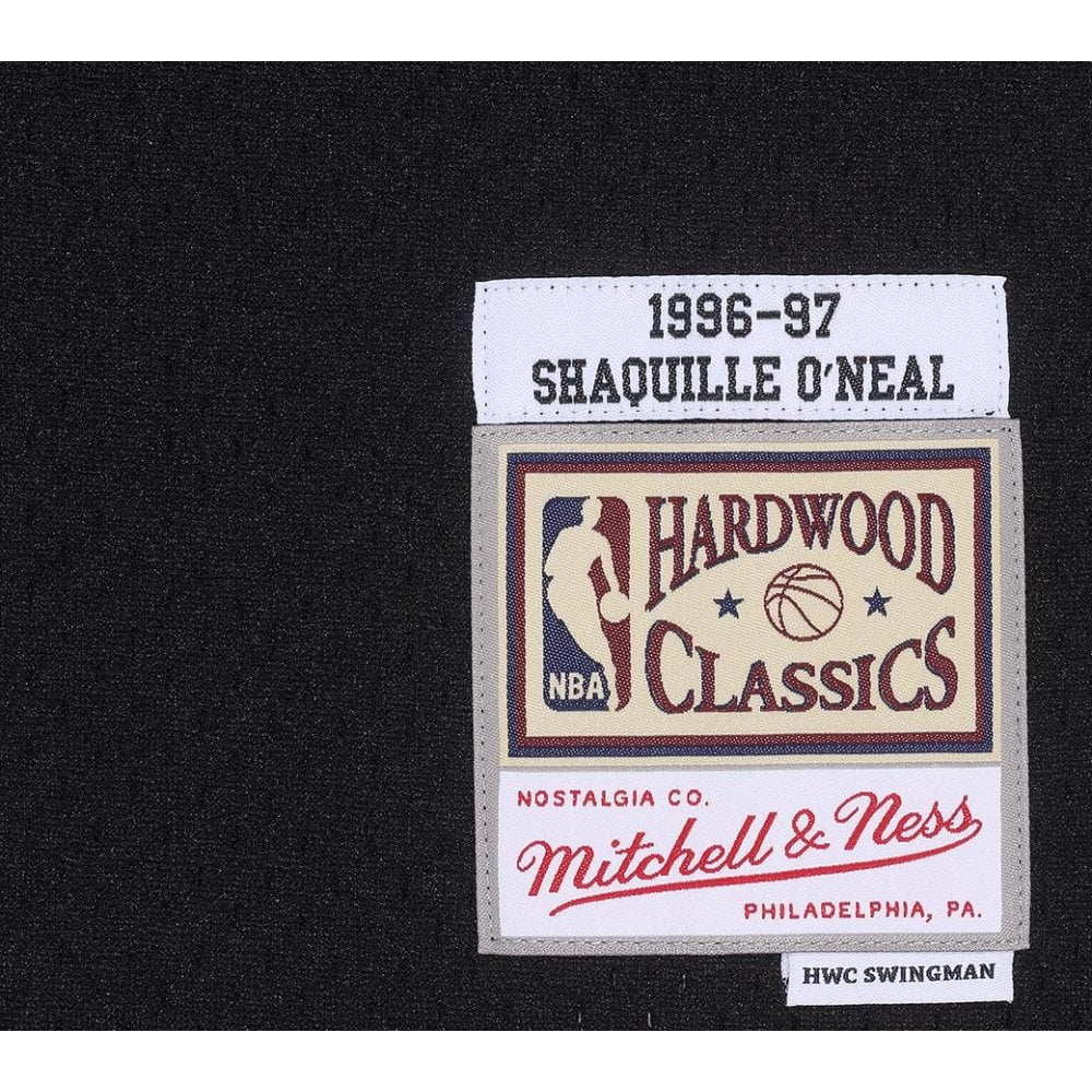 separation shoes d0ce7 1bce8 NBA Los Angeles Lakers Shaquille O  039 Neal 1996-97 Back to Black