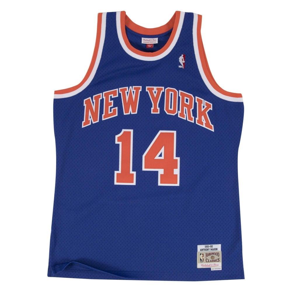 b3bf3092f9d Mitchell   Ness NBA New York Knicks Anthony Mason 1991-92 Swingman ...