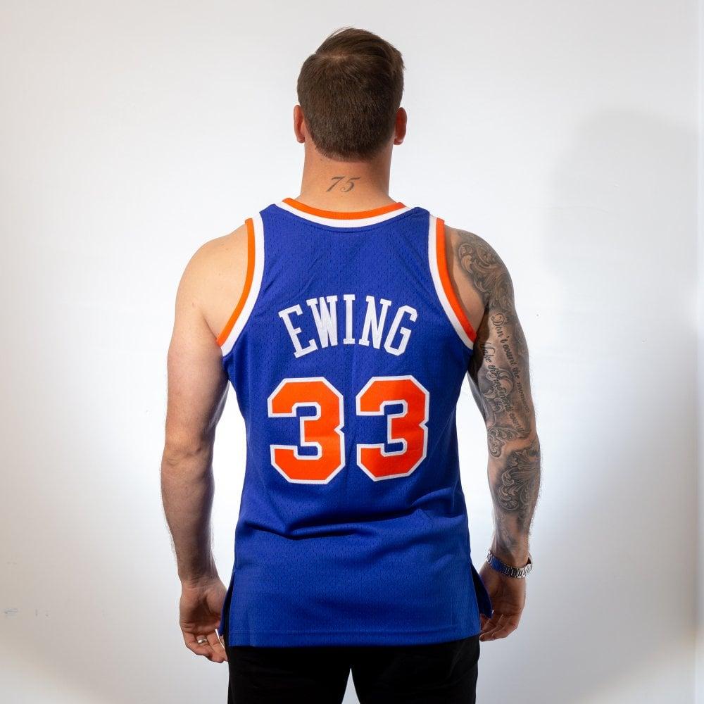 Mitchell   Ness NBA New York Knicks Patrick Ewing 1991-92 Swingman ... 5ad3a9860