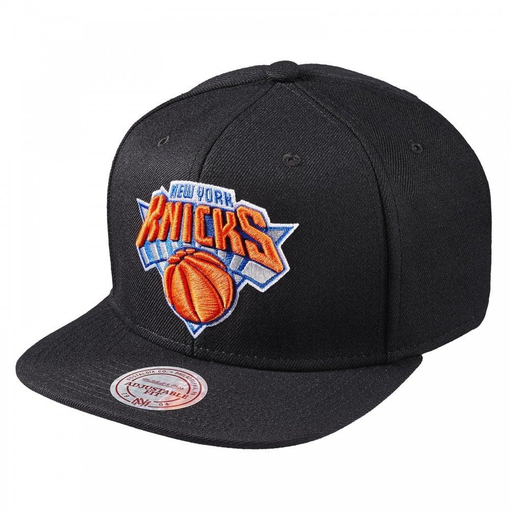 d23c83a38883d Mitchell   Ness NBA New York Knicks Wool Solid Snapback - Snapback ...