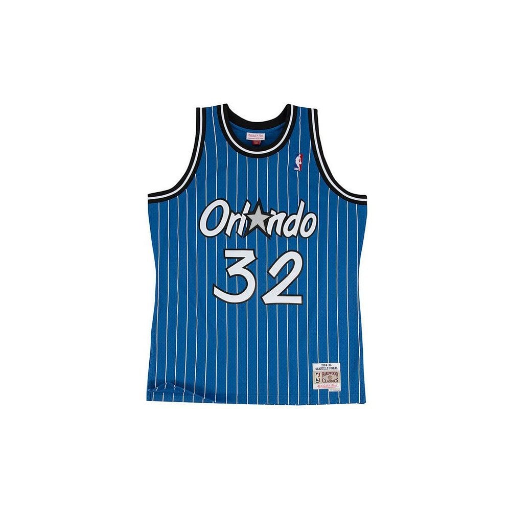 a519314a25a NBA Orlando Magic Shaquille O  039 Neal 1994-95 Blue Swingman Jersey