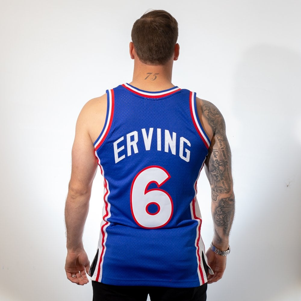 6eb01f149f01 Mitchell   Ness NBA Philadelphia 76ers Julius Erving 1976-1977 ...