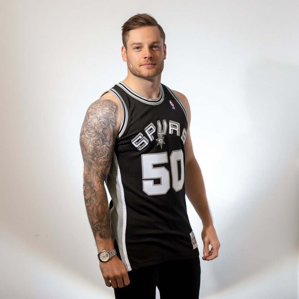 7a3579aa913cf Mitchell   Ness NBA San Antonio Spurs David Robinson 1998-1999 ...