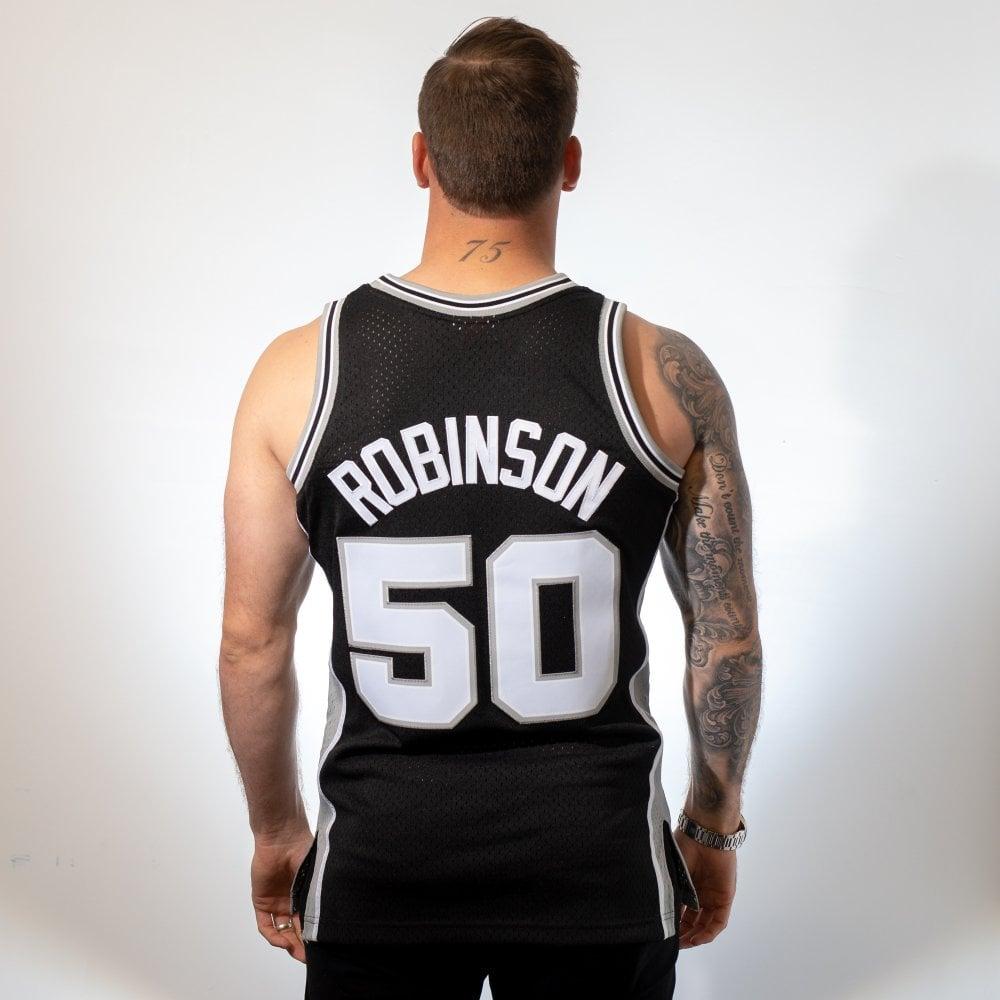 size 40 34b5d c81a1 NBA San Antonio Spurs David Robinson 1998-1999 Swingman Jersey