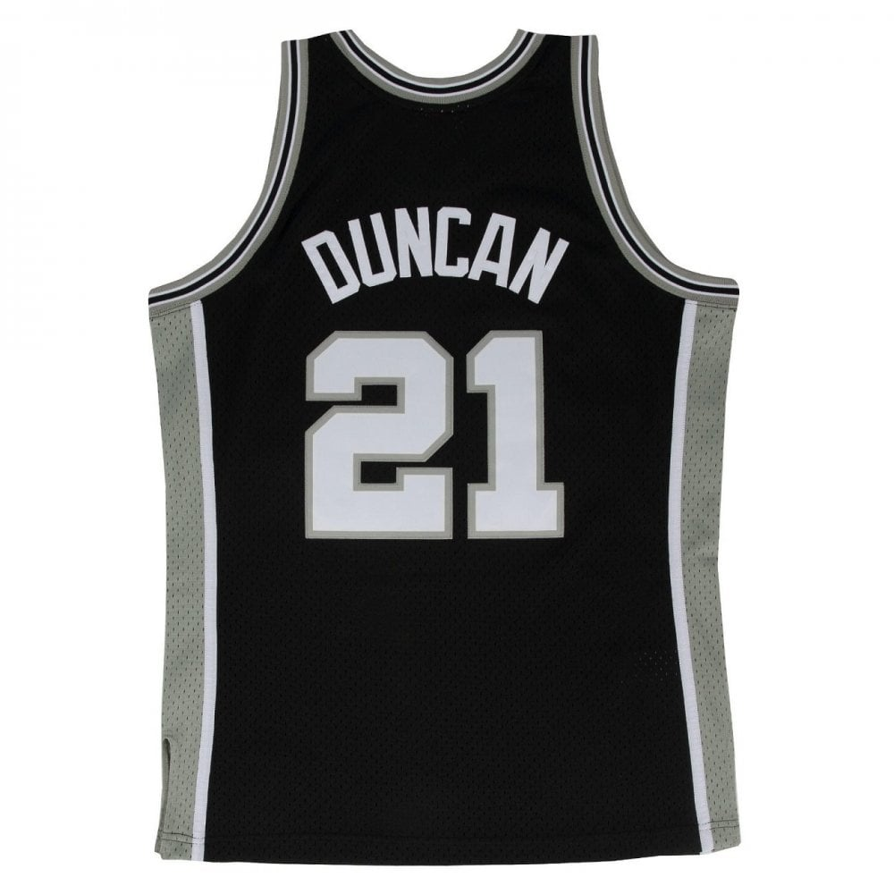sports shoes ad3eb 86070 NBA San Antonio Spurs Tim Duncan 1998-1999 Swingman Jersey