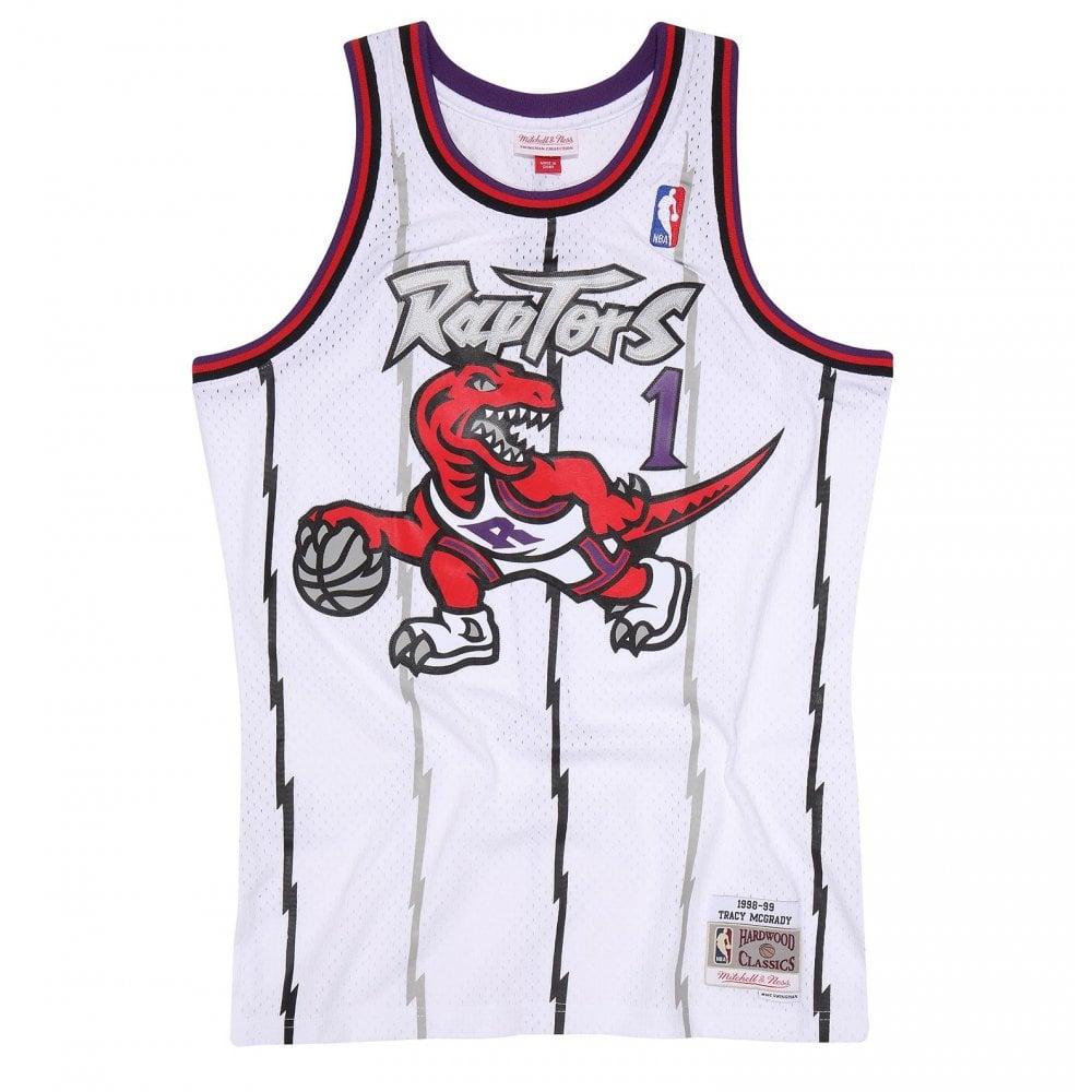 the latest 1dcf6 3b755 NBA Toronto Raptors Tracy McGrady 1998-99 Swingman Jersey