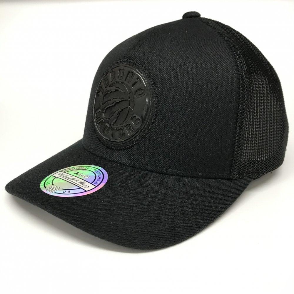 d886bc7e40ca6a Mitchell & Ness NBA Toronto Raptors Zig Zag Trucker Cap - Headwear ...