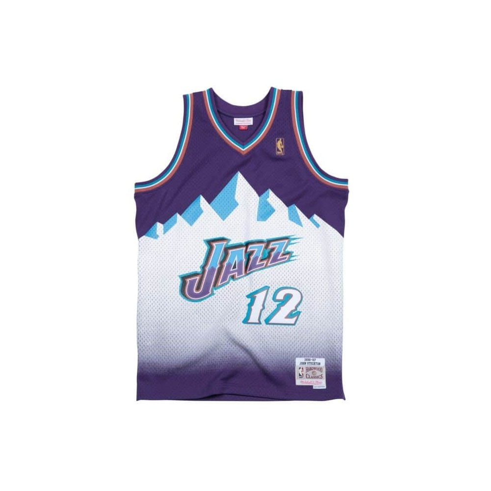 super popular cc10e d8b3a NBA Utah Jazz John Stockton 1996-97 Swingman Jersey