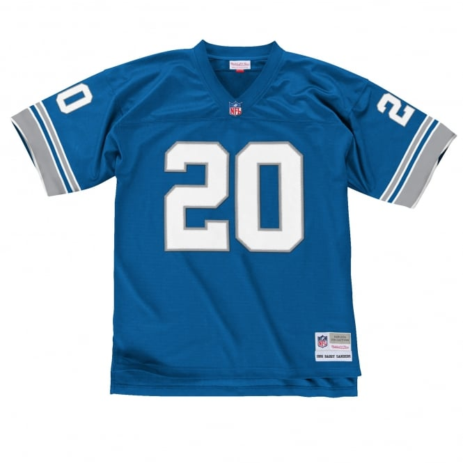 Mitchell & Ness NFL Detroit Lions Barry Sanders 1996 Replica Jersey