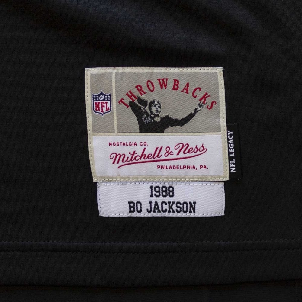 356950fb614 Mitchell   Ness NFL Los Angeles Raiders Bo Jackson 1988 Legacy ...