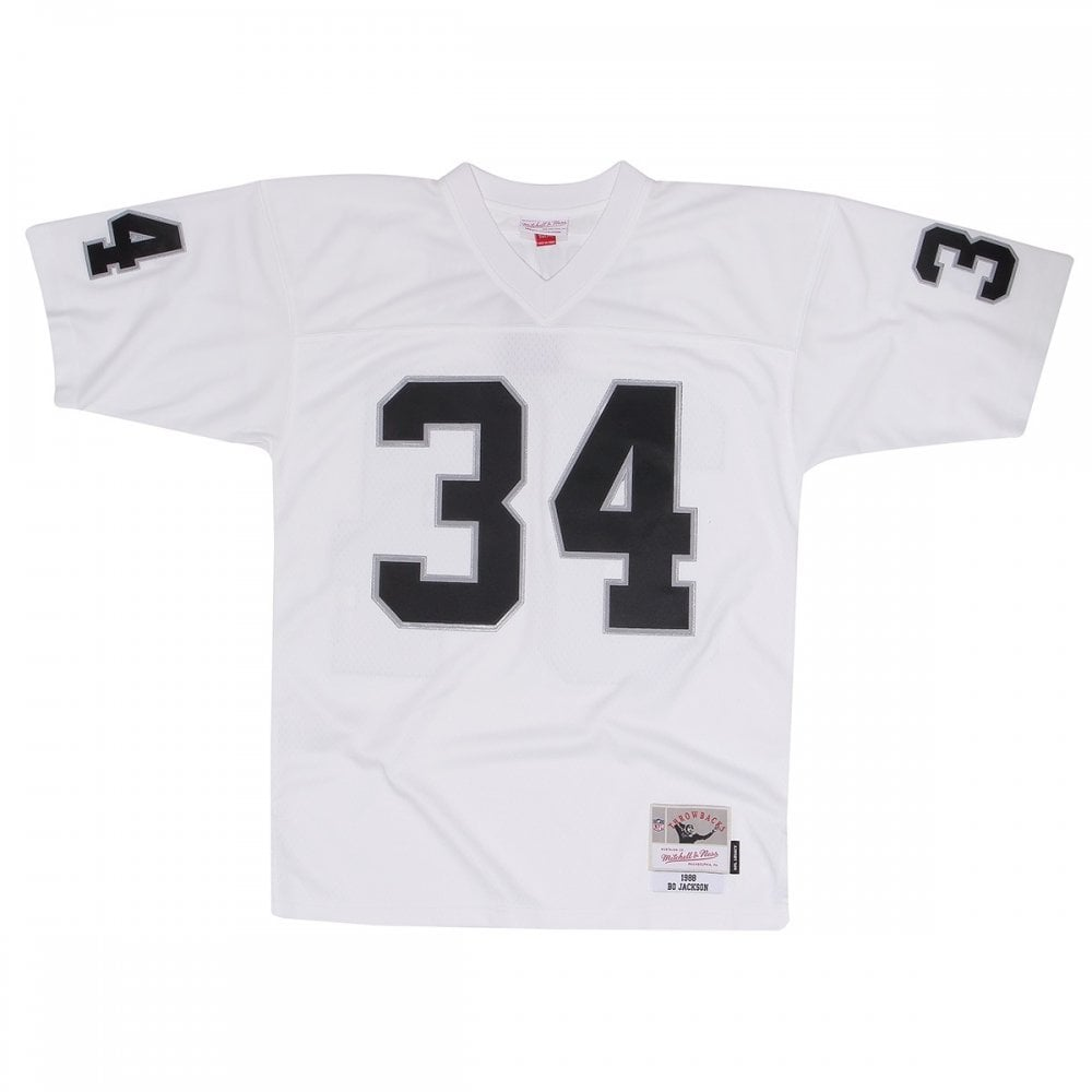 the latest 987b6 0d2ca NFL Los Angeles Raiders Bo Jackson 1988 White Legacy Jersey