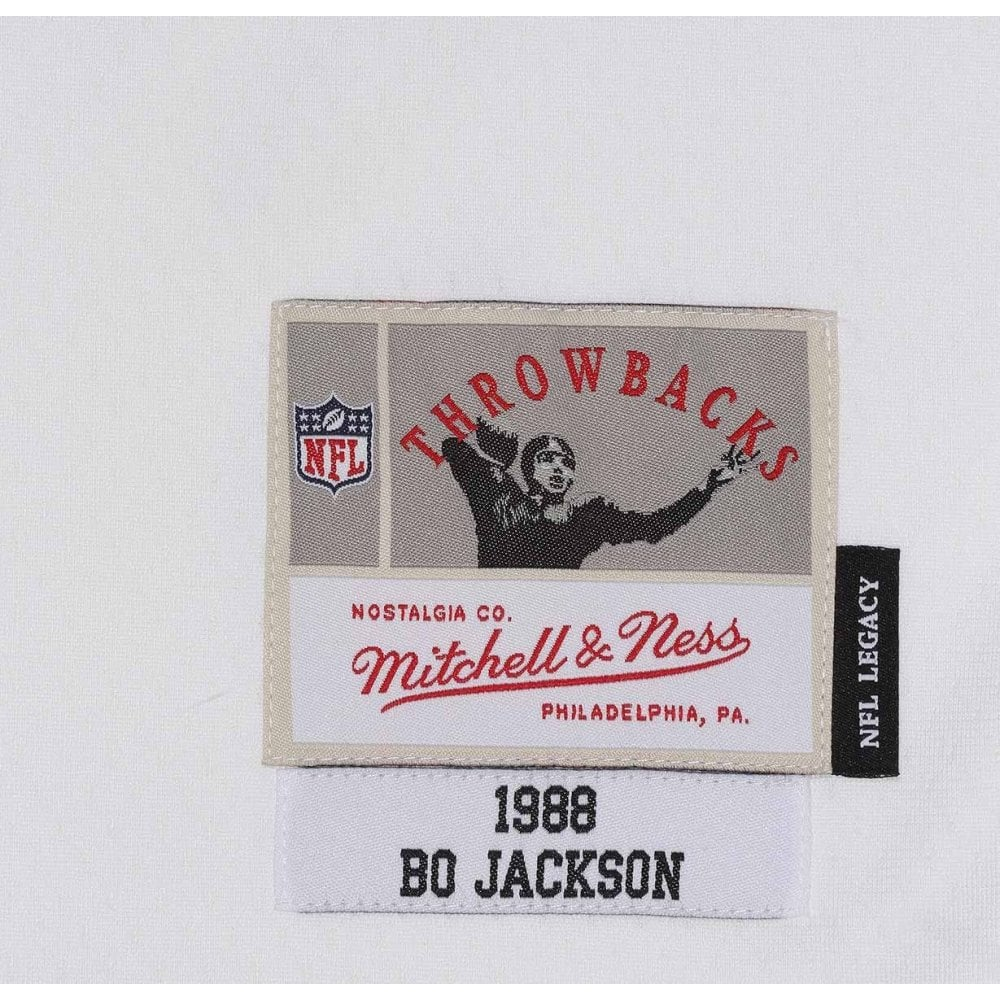 the latest abe2f 0a2e8 NFL Los Angeles Raiders Bo Jackson 1988 White Legacy Jersey