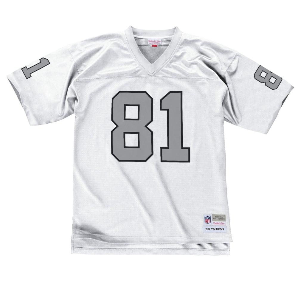 pretty nice d9796 3f5ab NFL Los Angeles Raiders Tim Brown 1994 Replica Jersey