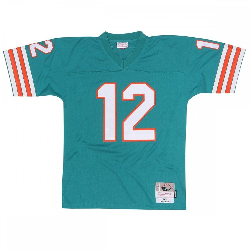 Mitchell & Ness NFL Miami Dolphins Bob Griese 1972 Legacy Jersey  for cheap