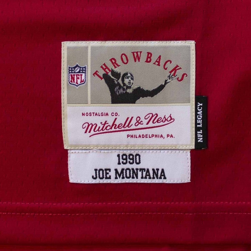huge selection of 72220 72952 NFL San Francisco 49ers Joe Montana 1990 Legacy Jersey