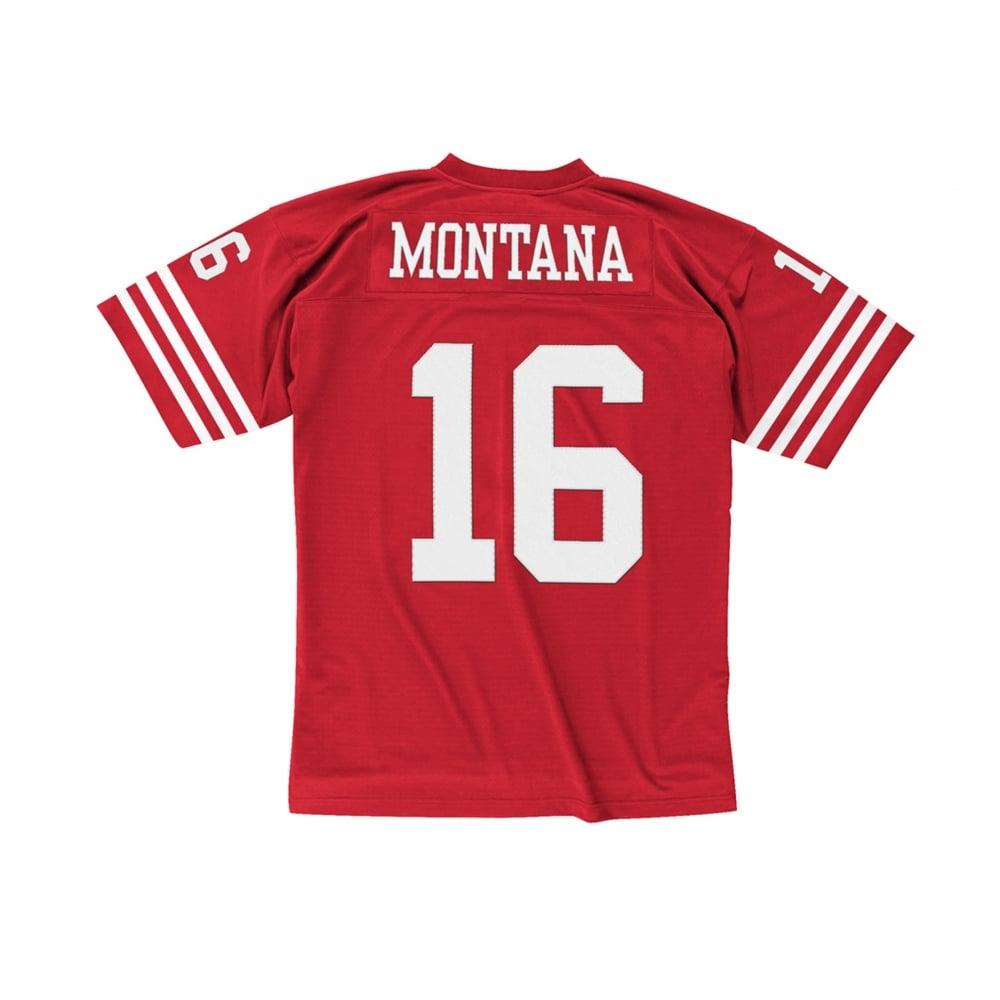 huge selection of da9e5 04086 NFL San Francisco 49ers Joe Montana 1990 Legacy Jersey