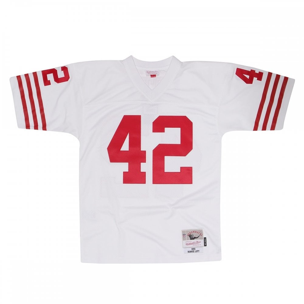 los angeles 0d262 8af5e NFL San Francisco 49ers Ronnie Lott 1990 Legacy Jersey
