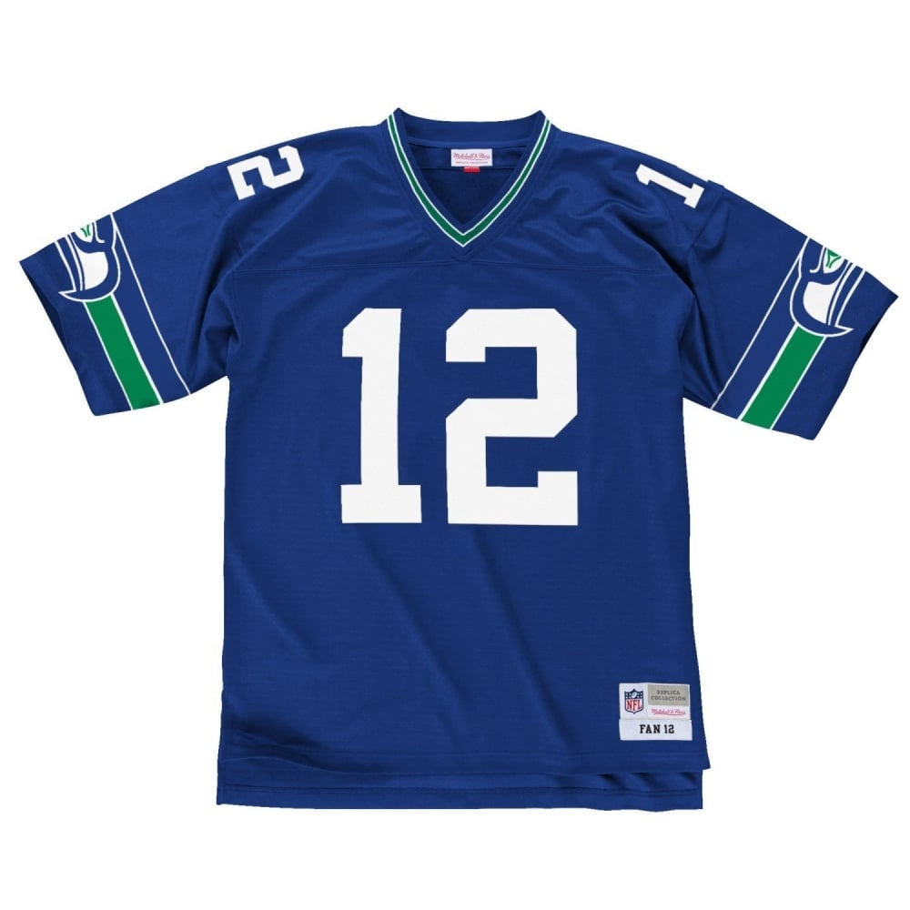 new product bba9d c192d NFL Seattle Seahawks Fan 12 Replica Jersey